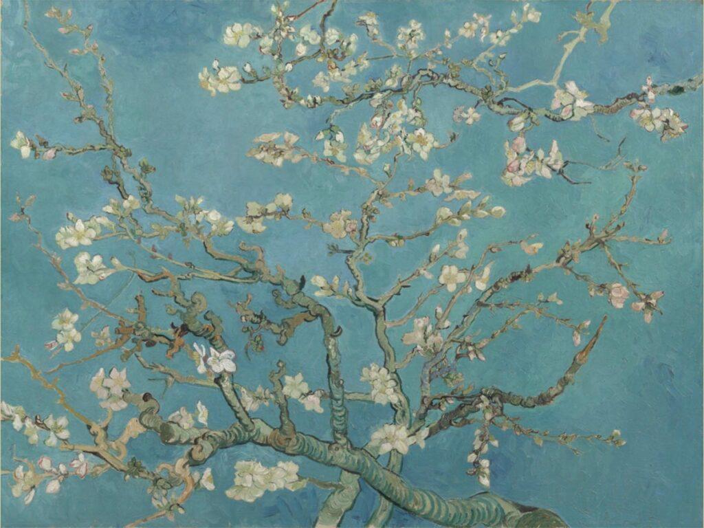 Ramo di mandorlo fiorito – Van Gogh Van Gogh Museum di Amsterdam