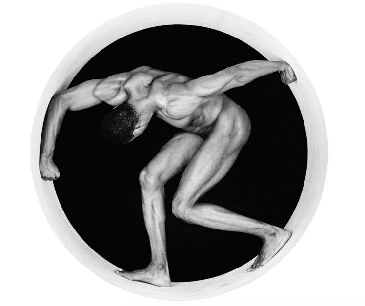 Robert Mapplethorpe Thomas 1987 nudo artistico