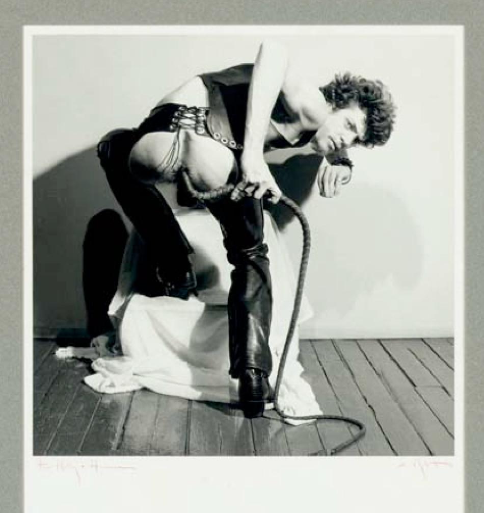 Robert Mapplethorpe Self Portrait X Portfolio come un satiro 1978
