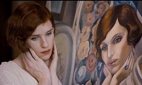 "Eddie Redmayne interpreta Lili Elbe in ""The Danish Girl"""