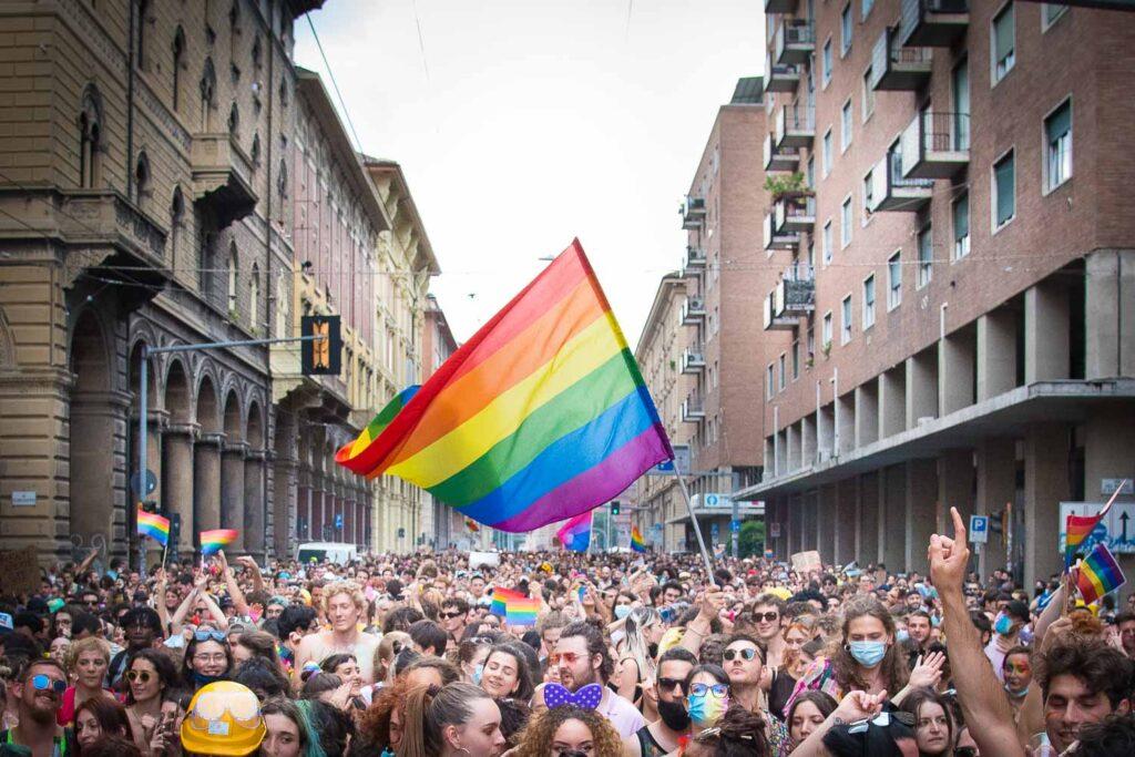 Stefano Pistis Pride Bologna 2021