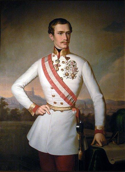 Francesco Giuseppe marito principessa Sissi Imperatrice d'Austria