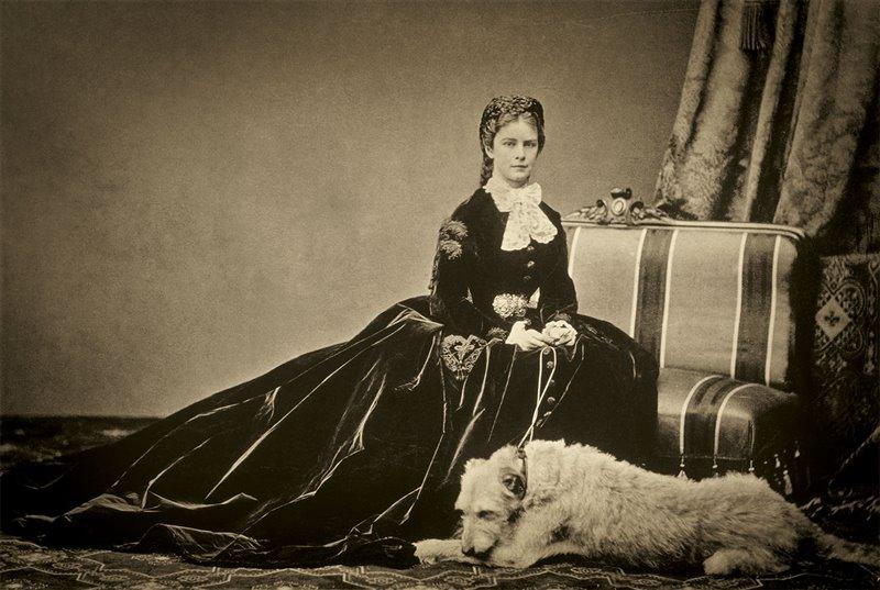 Elisabetta detta Sissi o Lisi con il suo cane