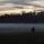 Tramonto e nebbia al Parco di Monza